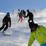 cours ski groupe Verbier