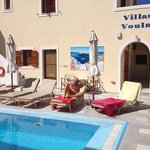 lazy days by the pool at Villa Voula.
