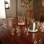 The Klipdrift tasting room