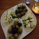 Oliven & Schafskäse