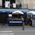 "vue du restaurant ""bar à huîtres"""