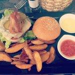 The Lucky Burger!