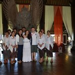 Tugu team with the newly weds