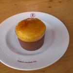 Mousse de chocolate con brioix