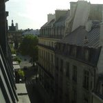 view from our room towards the Louvre