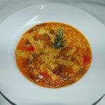 arroz meloso de sepia y setas
