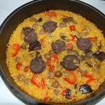 arroz de embutido de bocairent