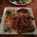 I took the mixed grill challenge.
