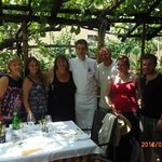 Our Cooking Class group with Chef Luigi