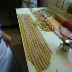 Our tri-colored pasta.