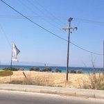 Kite-board beach