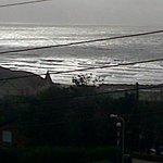 view from the balcony - Surfs up!