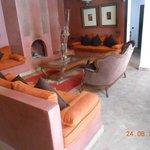Petit salon juste au niveau de la porte de la suite Salmia