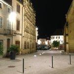 Local Street at night