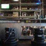 Modern bar.