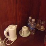 amenities in the room