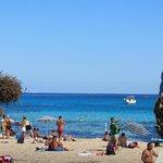 The beach nearest hotel