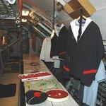 65 hommes d'équipage se partageaient un espace réduit au minimum...