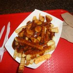 Straight up Poutine