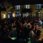 The atmosphere at The Frog & Rosbif during Euro 2012