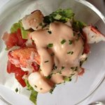 lobster salad (starter)