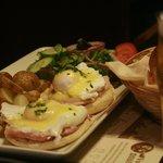 Our Eggs Benedict Brunch