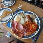 Full English Breakfast at the Esk Vale