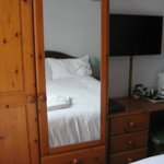 Room 2 Wardrobe and Flat Screen TV