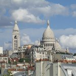 Sacre Coeur Basilica - View from balcony