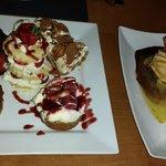Dessert sharing platter for 2!