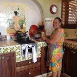 Casa Manana - meal prepared in room