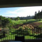 Golf course view from lanai and master bedroom
