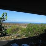 Ocean view (6 miles away) from 2nd bedroom