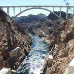 memorial bridge from the dam
