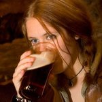 Enjoying a Pint !