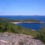 View of Sand Beach from Gorham Mountain