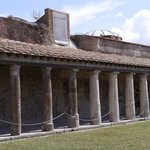 The Public baths at Pompeii
