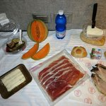 20 Euro feast from gourmet food shops