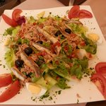 Ensalada de anchoas...buenísima!!