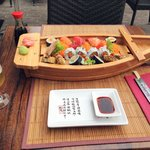 Sushi boat for 1