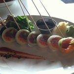 blue bamboo sushi