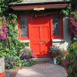 Front door of the Carriglea B&B