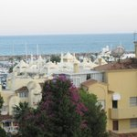 View of marina from my balcony
