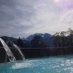 sulphur heated pool