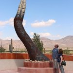 Tell Hicks  Rattlesnake Tail Sculpture , PHOTO OP!