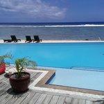 Manuia Beach pool