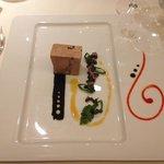 foie gras à la saucisse de Montbéliard