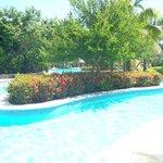 Une partie des piscines
