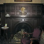 Fireplace in Room 1