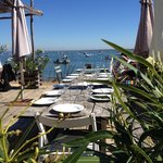A delightful lunch in front of the Bay of Arcachon